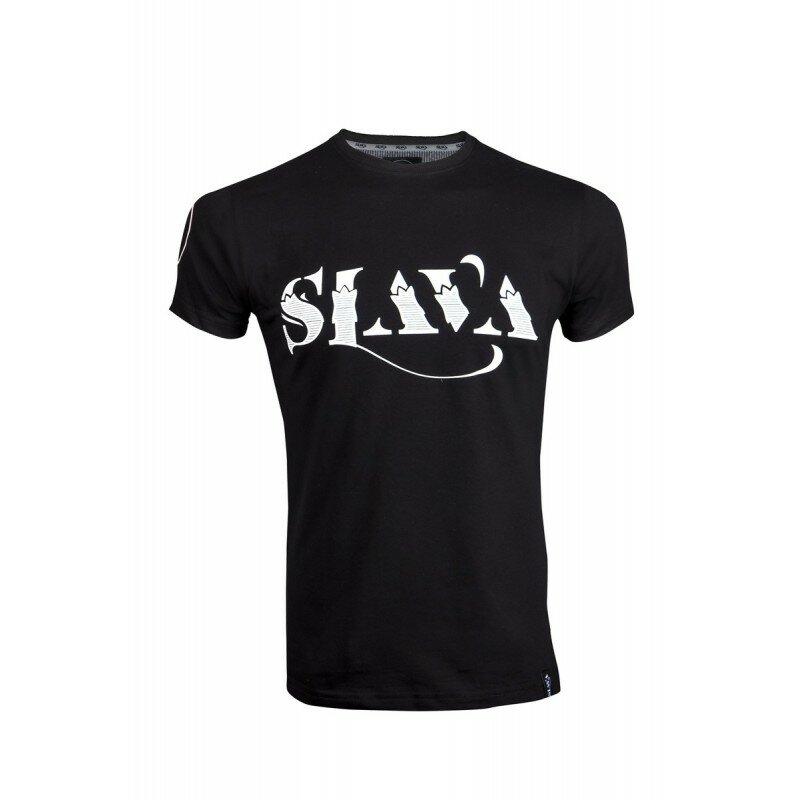 Koszulka Słowiańska Męska - Slava (Czarna)
