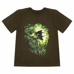 Koszulka Słowiańska dziecięca - Chochlik (Khaki)